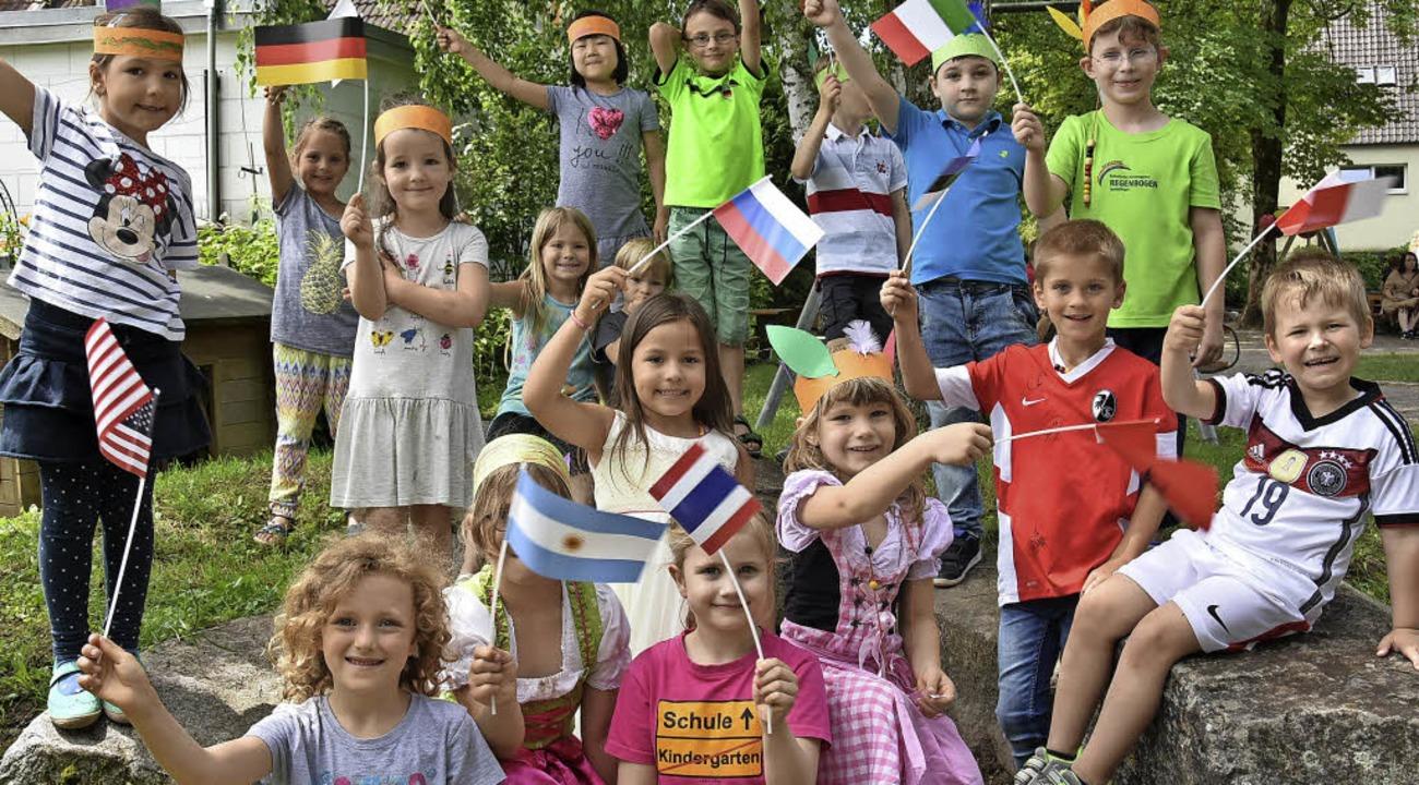 Kindergartenfest Regenbogen    Foto: Andrea Steinhart