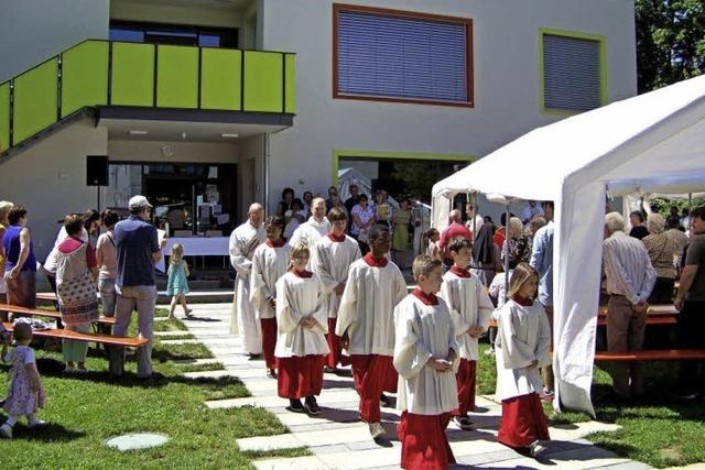 Sommerfest im Kindergarten-Garten