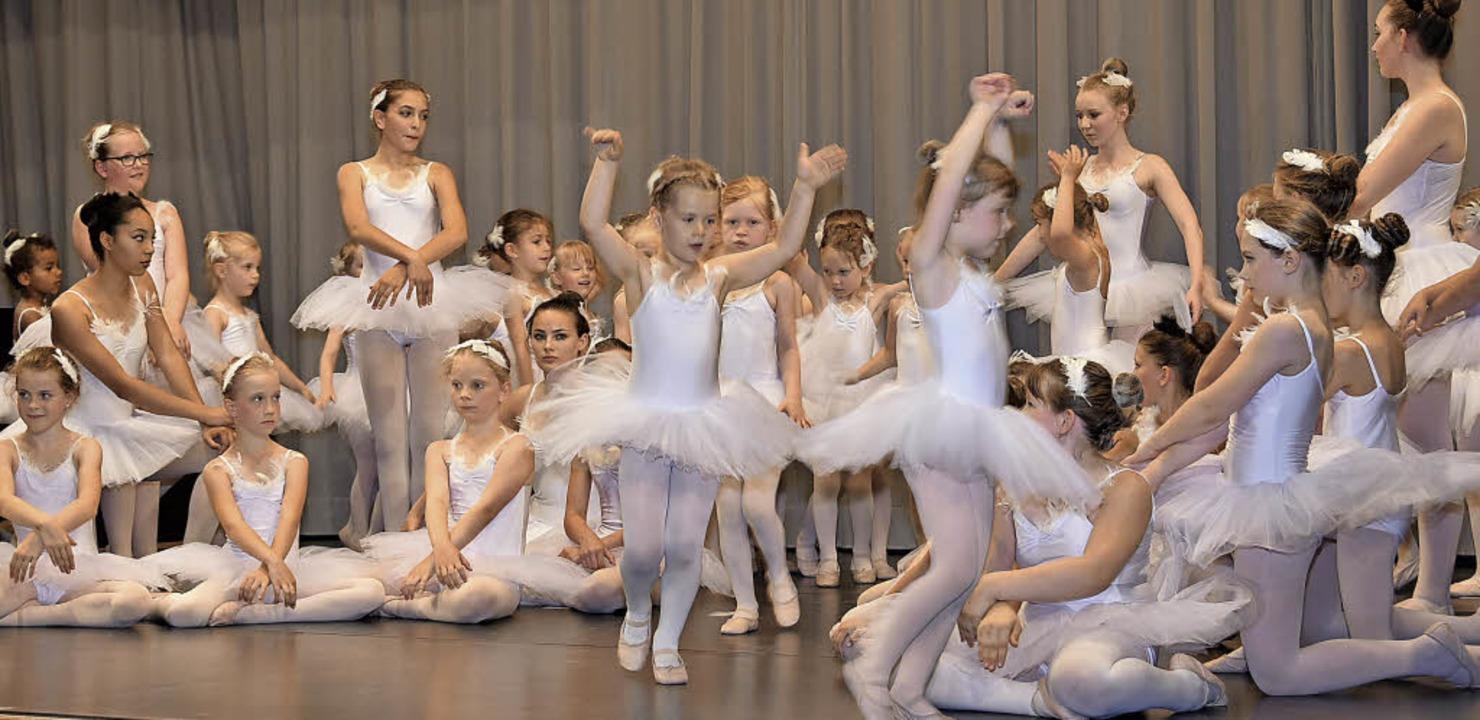 Viel Beifall für Tanzaufführung der Ba...wanensee in der Gundelfinger Festhalle  | Foto: Andrea Steinhart