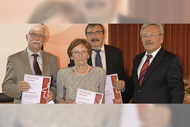 Ehrenvorstände des Bürgervereins