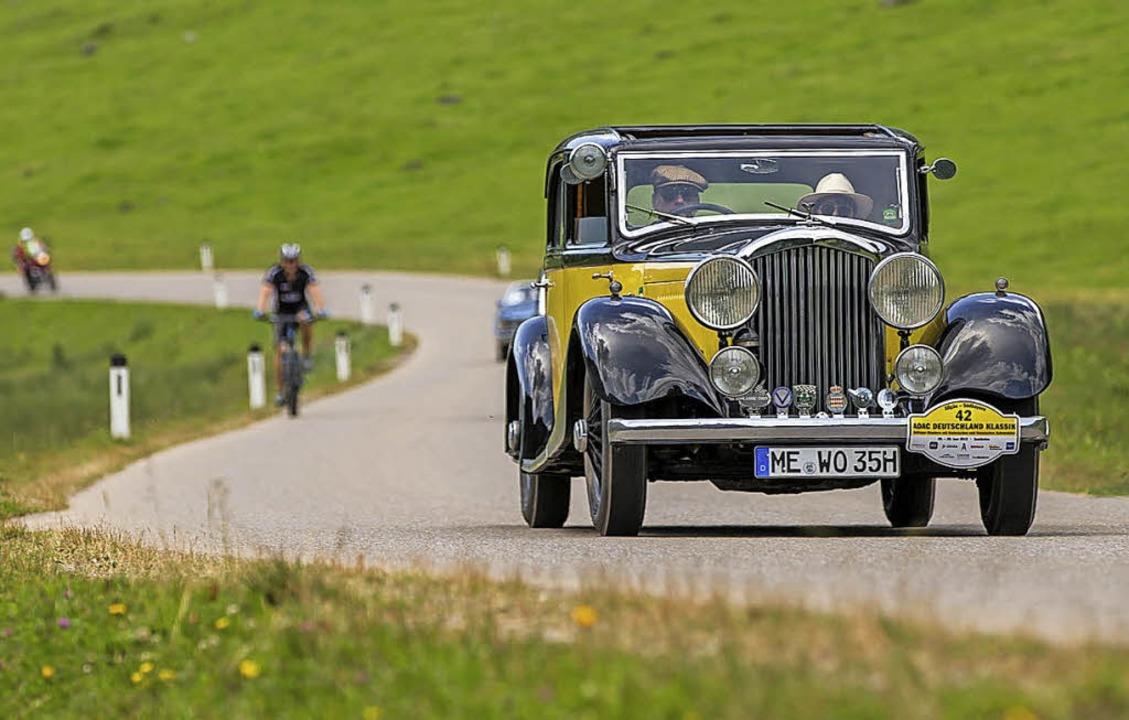 Oldtimer touren von Donnerstag bis Samstag durch Südbaden.     Foto: ZVG