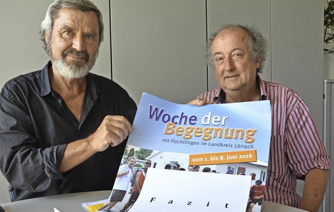 Vitus Lempfert (links) und Florian Nantscheff    Foto: Barbara Ruda