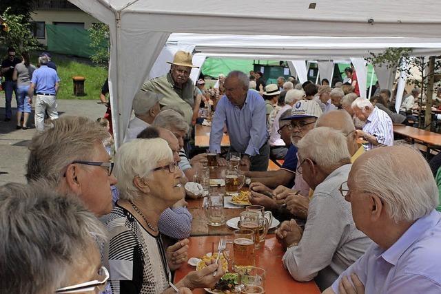 Hafenfest der Elzacher Feuerwehr fand zum 40. Mal statt