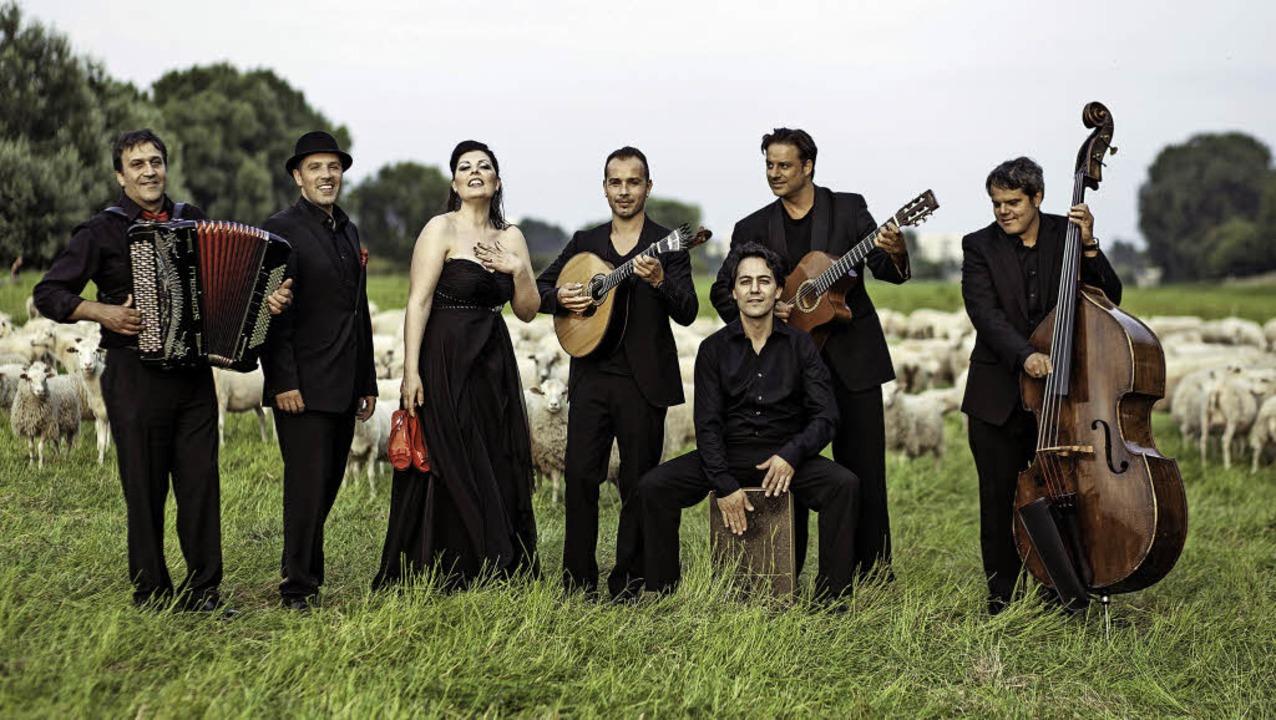 Sina Nossa aus Portugal waren bereits ...rgangenen Jahr zu Gast in Rheinfelden     Foto: Privat