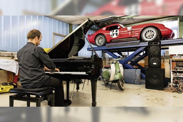 Klassik in der Autowerkstatt