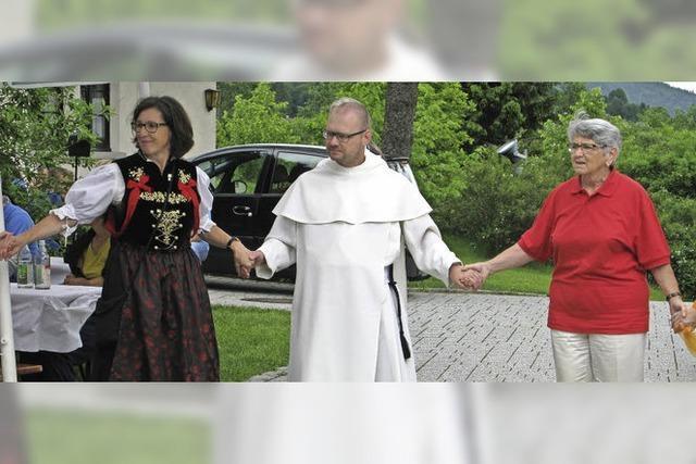 Abschied von Pater Eusebius