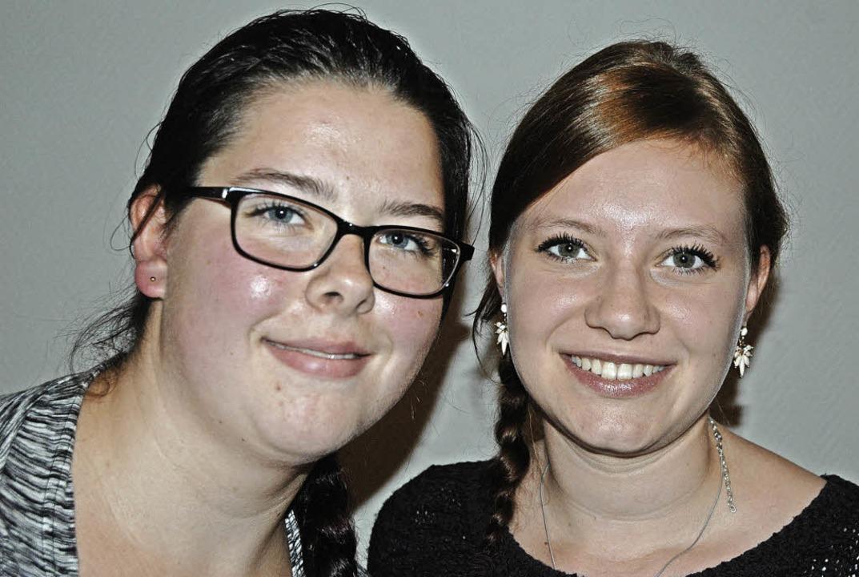 Johanna Rupp (links) und Svenja Kesseb... den Vorstand der Neonröhrer gewählt.   | Foto: Christiane Sahli
