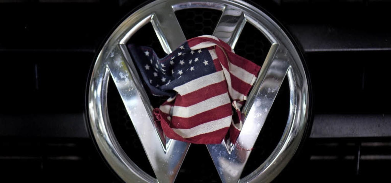 Ein gespanntes Verhältnis: VW und die USA  | Foto: DPA