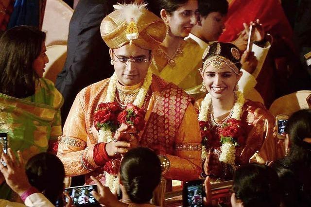 Hochzeit des Maharadschas von Mysore
