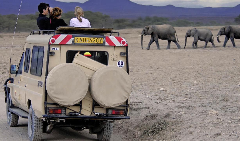 Safari-Touristen in Afrika  | Foto: dpa