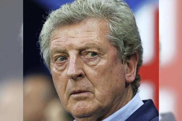 Roy Hodgson verkündet seinen Exit