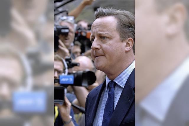 Keine Gnade für Cameron