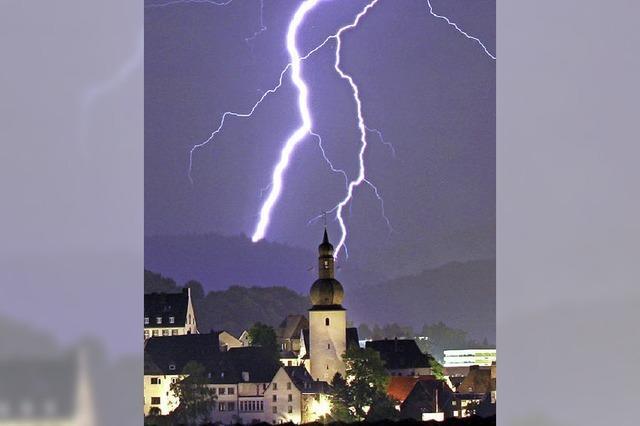 So bleibt ein Blitz ohne schwere Folgen