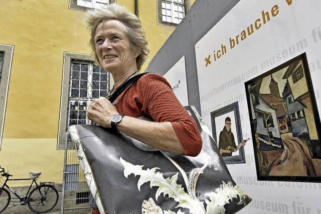 Einzigartige Taschen aus den Werbebannern des Augustinermuseums