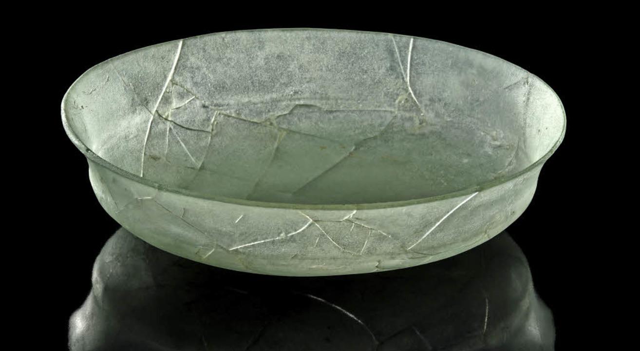 Persische Glasschale  | Foto: Manuela Schreiner vom Archäologischen Landesmuseum Baden-Württemberg
