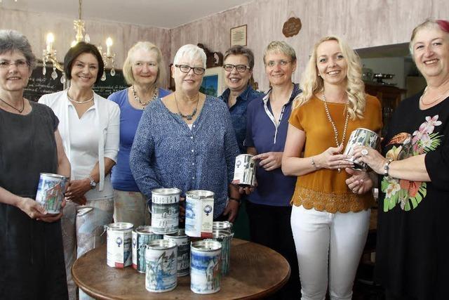 Spendendosen fürs Frauenhaus