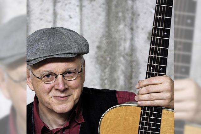 Uli Führe singt Johann Peter Hebel im Kunstverein Galand