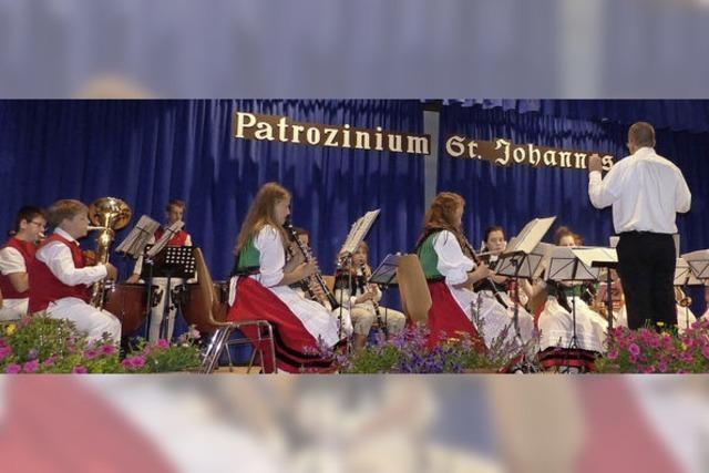 Moderne Klänge beim Patrozinium