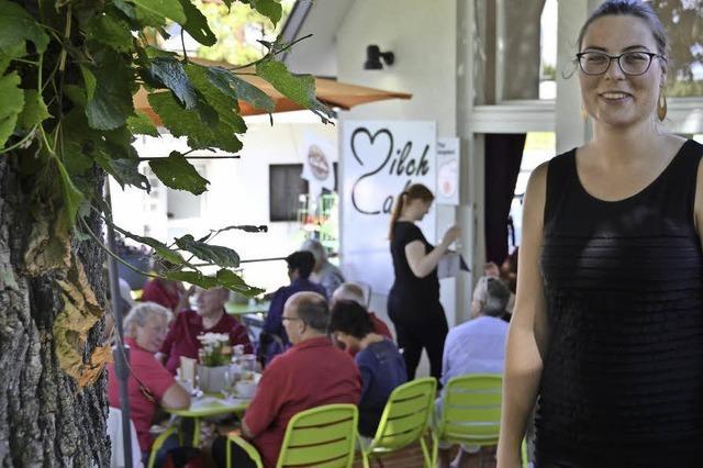 Milchcafé in Sölden hat jetzt eine Terrasse