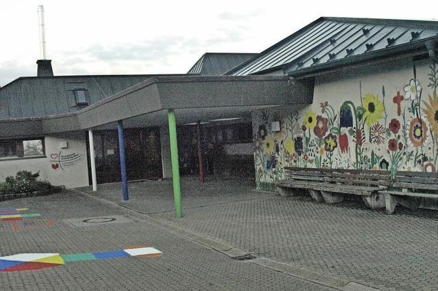 Blick auf die Modellschule Dachsberg