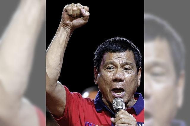 Der neue philippinische Präsident Rodrigo Duterte ist ein gefährlicher Dampfplauderer