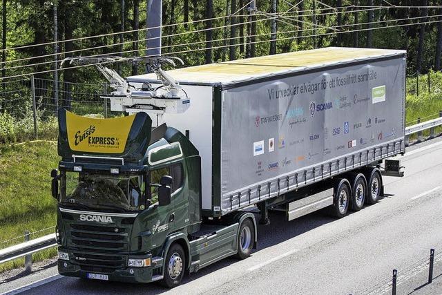 Schweden testet die erste Elektroautobahn der Welt
