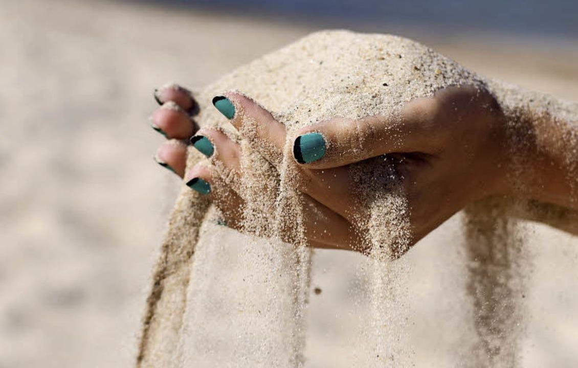 Fünf Tonnen Sand und Muscheln wurden 2015 konfisziert.   | Foto: colourbox