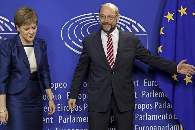 Die Europäische Union wahrt nach der Brexit-Abstimmung den Schein der Normalität