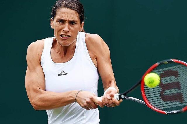 Petkovic nach Wimbledon-Warterei erfolgreich