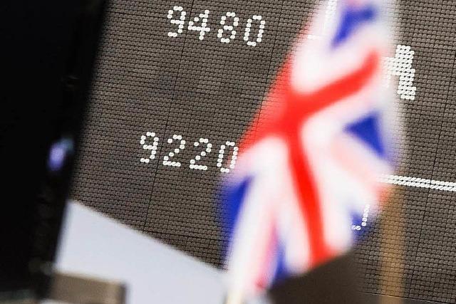 Brexit: Freiburger Firmen spüren die schwankenden Wechselkurse