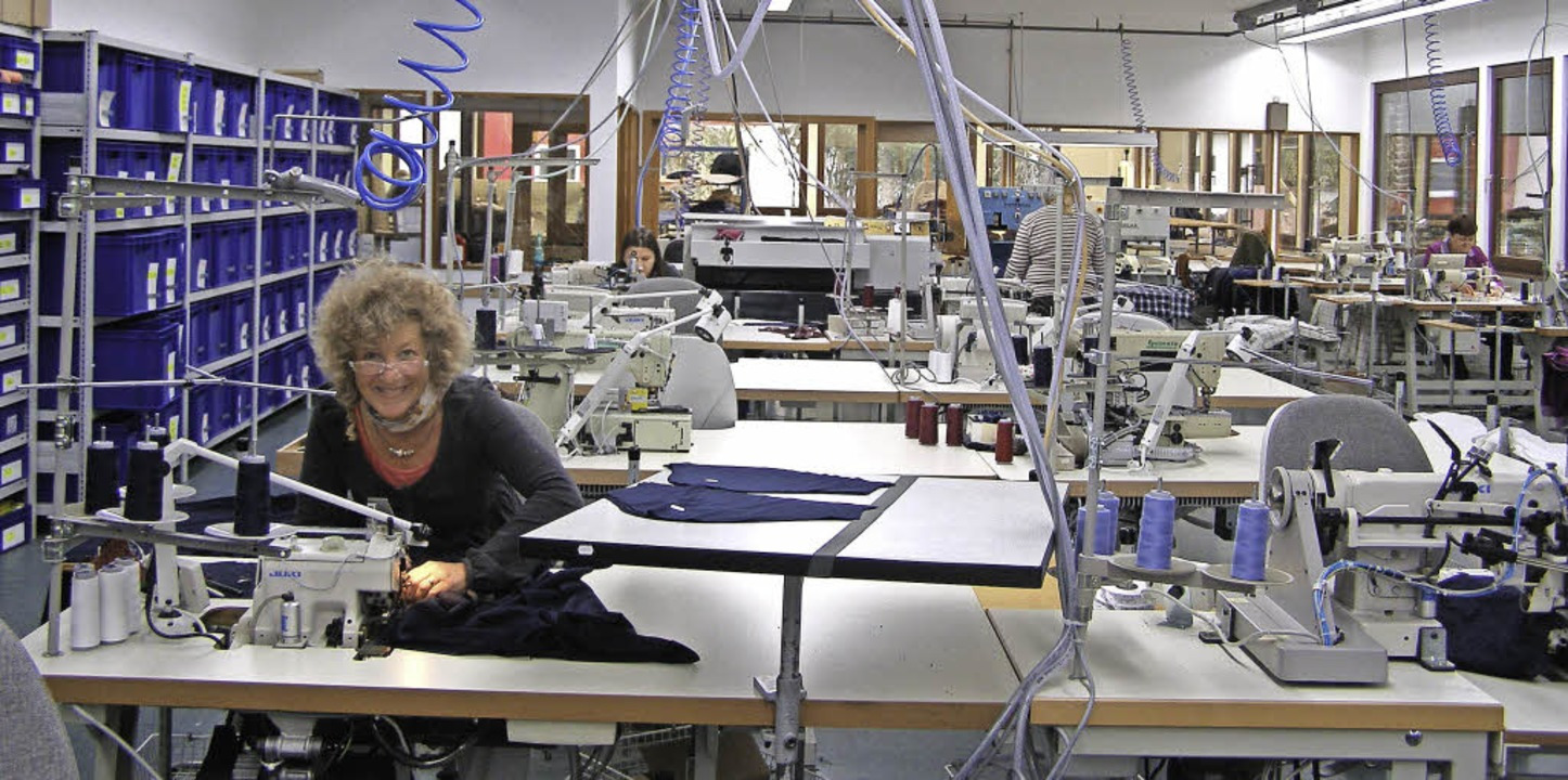 Ein Blick in die Novila-Produktion in Neustadt.   | Foto: Liane Schilling