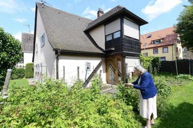 Johanna Förderer wohnt seit 90 Jahren im selben Haus in St. Georgen