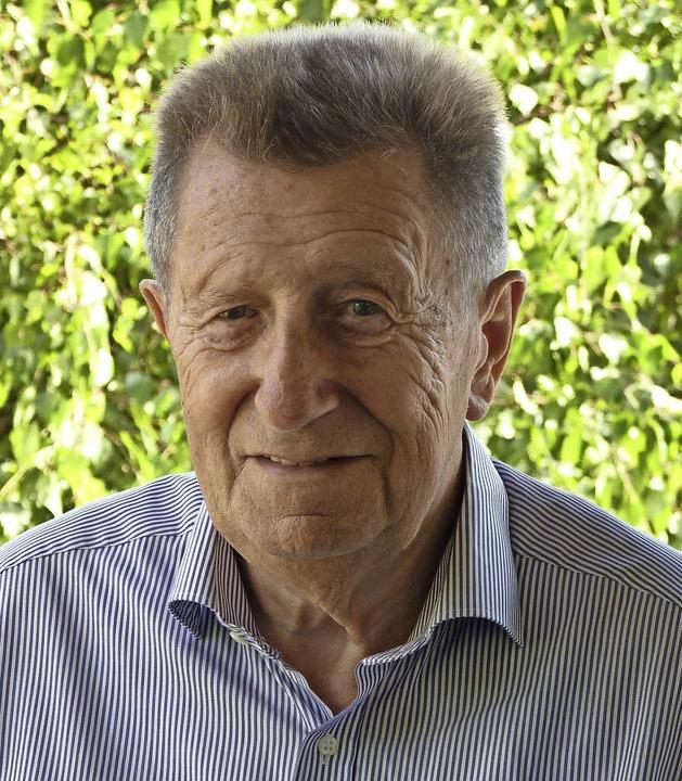 Gerhard Asal feiert heute in Raich seinen 80. Geburtstag.   | Foto: Eiche