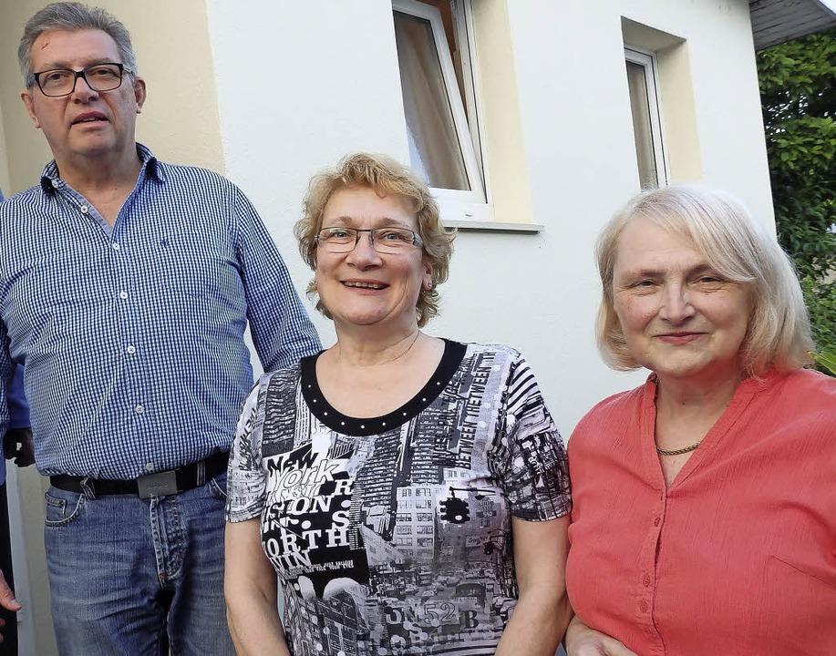 Repräsentanten der Friseur-Innung: Ing...tel Crimi und Obermeister Peter Hauth   | Foto: Johanna Högg