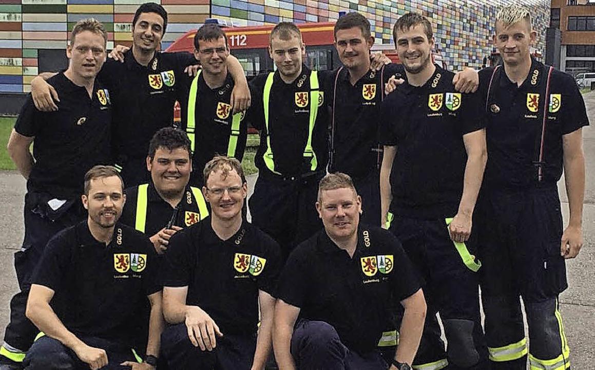 Gold holte   Laufenburgs Leistungsgrup... Ruch (Murg) und   Manuel Kaiser (THW)  | Foto: Feuerwehr
