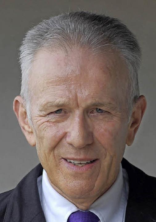 Raimund Halter ist im Alter von 71 Jahren gestorben.   | Foto: Archiv: H. Späth