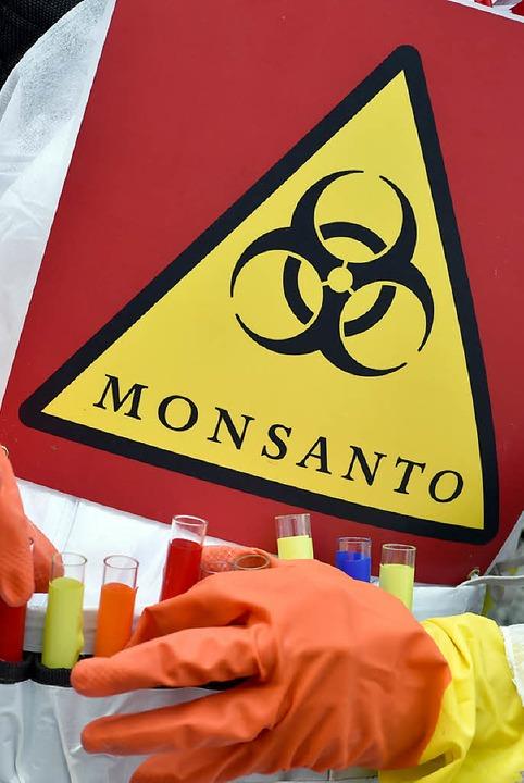 Nicht beliebt: der US-Agrochemie-konzern Monsanto  | Foto: DPA