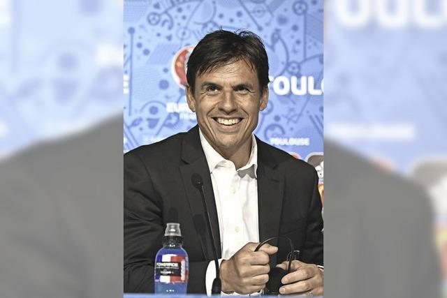 Wales Coach Chris Coleman ist Mister Cool