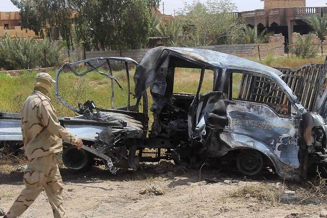 Islamischer Staat aus Falludscha vertrieben