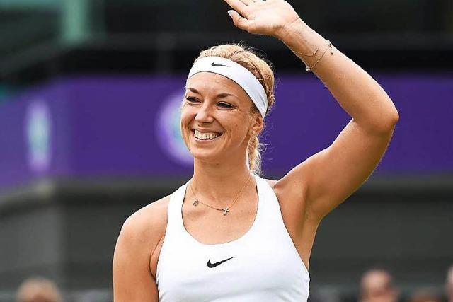 Wimbledon: Lisicki glänzt bei Drittrunden-Einzug