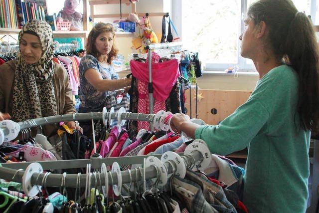 Kleiderkammer in Öflingen weiterhin gut besucht