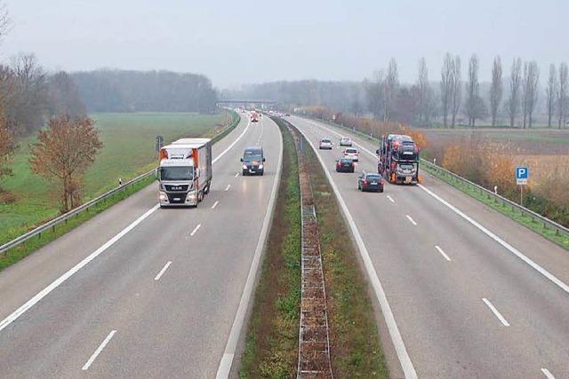 Minister für sechsspurigen Ausbau der A5 zwischen Offenburg und Freiburg