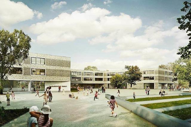 So soll der Neubau der Staudingerschule aussehen