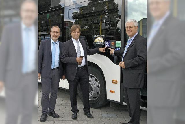 Kostenlos surfen in Bussen der SWEG