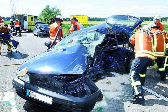Zwei Menschen sterben nach Unfall nahe Niederschopfheim