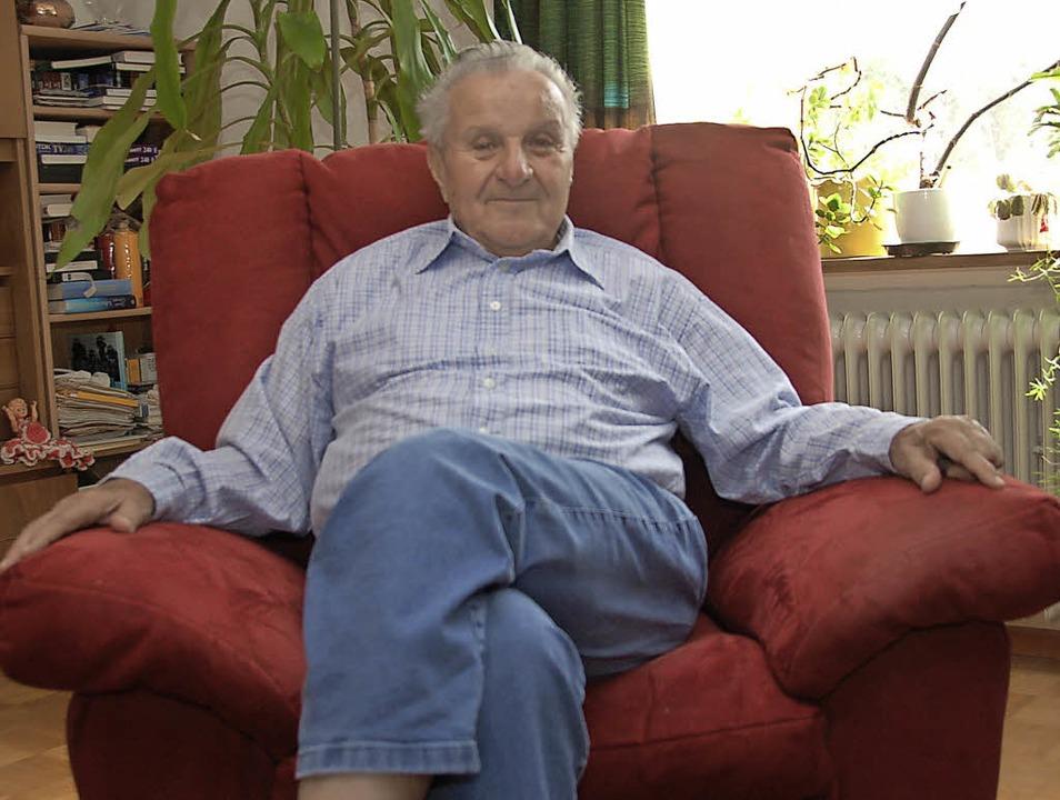 Wolfgang Fischer, der zuletzt noch am ... 81 Jahren in den Ruhestand gegangen.   | Foto: Wolfgang Beck