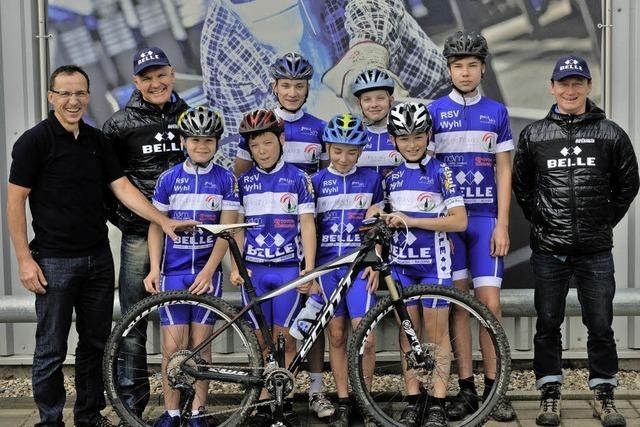 Unterstützung für junge Mountainbiker