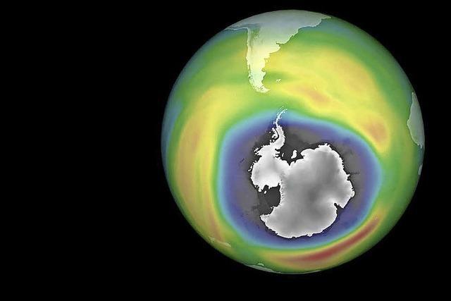 Ozonloch schließt sich langsam