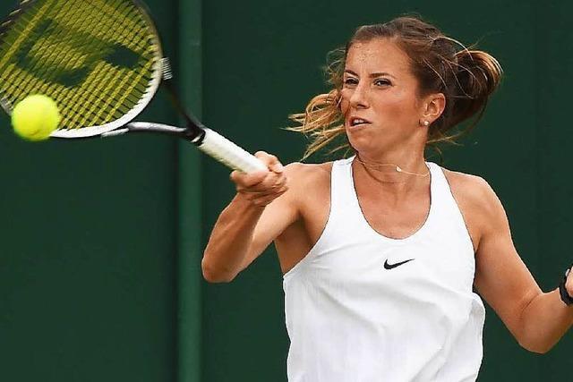 Annika Beck erreicht in Wimbledon die dritten Runde