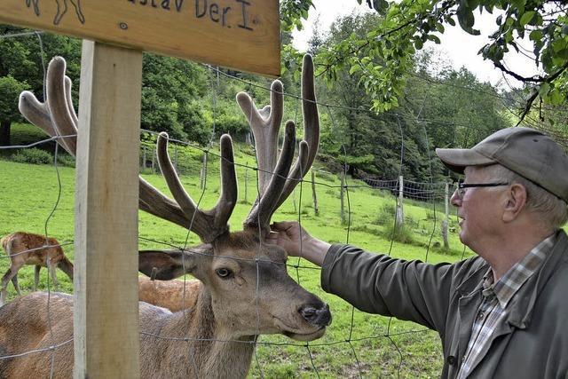 Gustav Strohmeier hört beim Zeller Wildgehege auf